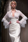 Wedding dresses fashion show Royalty Free Stock Photo