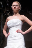 Wedding dresses fashion show Royalty Free Stock Images