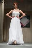 Wedding dresses fashion show Stock Photo