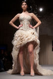 Wedding dresses fashion show Royalty Free Stock Photography