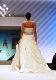 Wedding dresses fashion show Stock Photos
