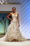 Wedding dresses fashion show Stock Photography