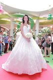 Wedding dresses fashion show Royalty Free Stock Photo