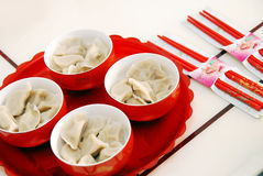 Wedding dumplings Stock Image