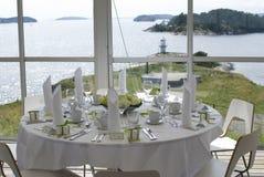 Wedding in einer Insel Stockbild