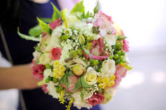 Wedding Elegant Bouquet Royalty Free Stock Photography