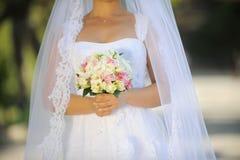 Wedding Elegant Bouquet Stock Photography
