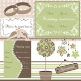 Wedding elements,  Royalty Free Stock Photo