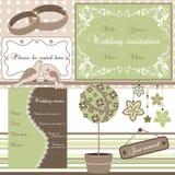 Wedding elements,  Royalty Free Stock Photo