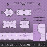 Wedding elements Stock Photo