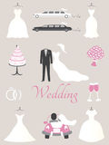 Wedding elements Royalty Free Stock Image