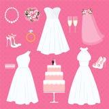 Wedding elements Royalty Free Stock Photos