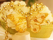 Wedding embellishment Stock Images