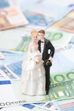 Wedding expense Royalty Free Stock Images