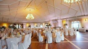 Wedding Exquisite Banquet stock video footage