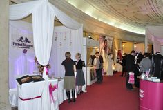WEDDING FAIR Royalty Free Stock Photos