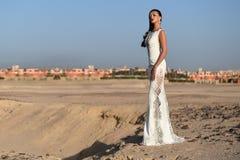 Wedding fashion and beauty salon. Royalty Free Stock Image