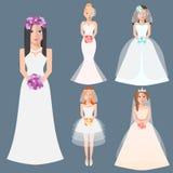 Wedding fashion Stock Photography