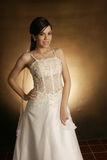 Wedding fashion girl Stock Image