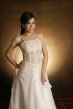 Wedding fashion girl Stock Image