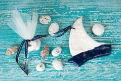 Wedding favor christening Stock Photos