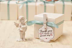 Wedding favor. Table decoration for wedding party Royalty Free Stock Photos