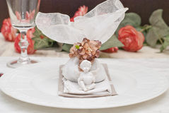 Wedding favor. Table decoration for wedding party Royalty Free Stock Photo