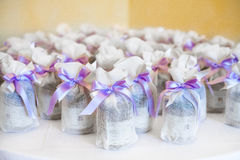Wedding favors Royalty Free Stock Image