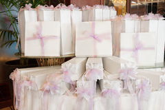 Wedding favors Royalty Free Stock Images