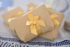 Wedding favors gift for ceremony guest Royalty Free Stock Image