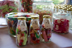 Wedding Favours. That we made for guests at my sister's wedding Stock Image
