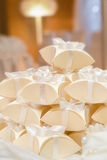 Wedding favours. Thank You Gift Box for Special Occasions Royalty Free Stock Image