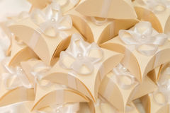 Wedding favours. Thank You Gift Box for Special Occasions Royalty Free Stock Images