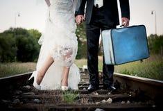 Wedding feet Stock Photos