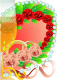 Wedding festive background Stock Images