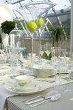 Wedding festive table Royalty Free Stock Images