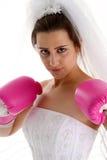 Wedding Fight Stock Image