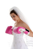 Wedding Fight Royalty Free Stock Images