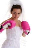 Wedding Fight Royalty Free Stock Photos