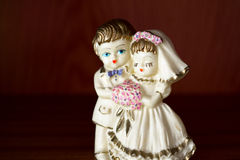 Wedding figurine Royalty Free Stock Photos