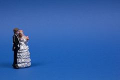 Wedding figurines Stock Image