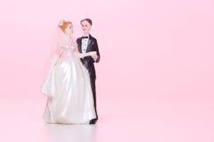 Wedding figurines Stock Photos