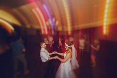 Wedding first dance Royalty Free Stock Images