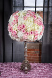 Wedding Floral Arrangement royalty free stock image