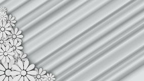 Wedding floral background with place for text stock video footage