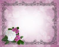 Wedding Floral Border ornamental Frame Royalty Free Stock Image