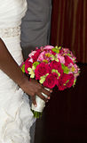 Wedding Floral Bouquet Stock Photo