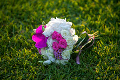 Wedding floral bouquet Stock Photos