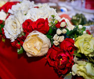 Wedding floral decoration Stock Image