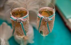 Wedding floral decoration Stock Images